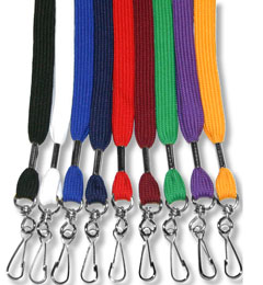 Flat Lanyard with Swivel Hook
