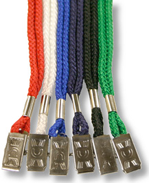 Round Lanyard with Bulldog Clip