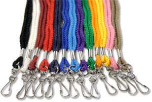 Round Lanyard with Swivel Hook