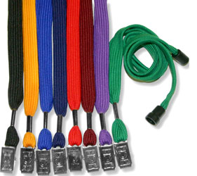 Safety Breakaway Lanyard with Bulldog Clip